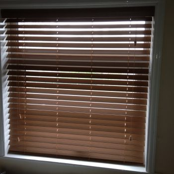 English Oak Faux Wood Venetian Blinds